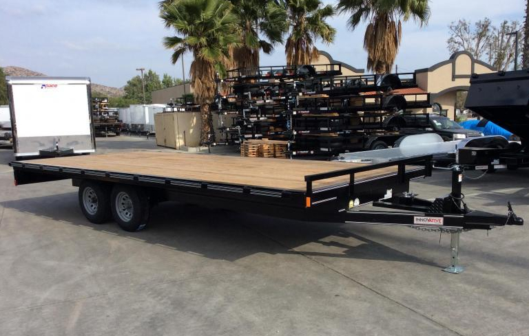 Deckover equipment trailer Innovative at Norco Trailers