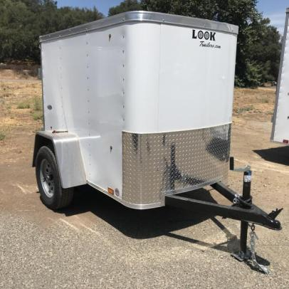 Stock#4622, Look Trailers STLC 4' x 6' 4.5' Interior height, 2990# GVWR, 733 empty, 2257 payload