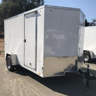 Stock#4740, Look Trailers STVLC 7' x 12' 6.5' Interior height. 3500# GVWR, 1688 empty, 1812 payload