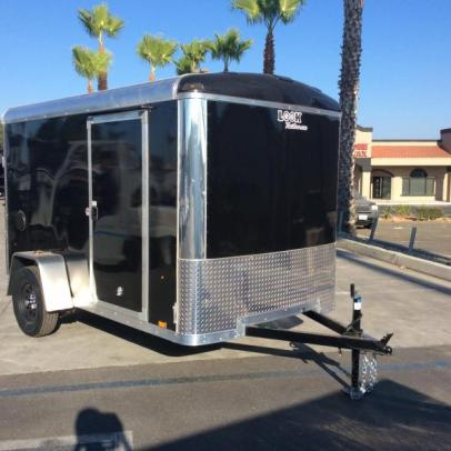 Stock#4761, Look Trailers Vision 6' x 10' 6' Interior height. 2990# GVWR, 1443 empty, 1547 payload